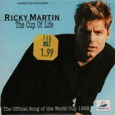 Ricky Martin(CD Single)The Cup Of Life-666150 5-New