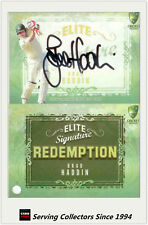 2009-10 Select Cricket Trading Cards Signature Redemption ES1 Brad Haddin