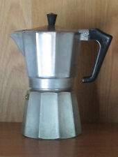 """VINTAGE PER ALIMENTI STOVETOP EXPRESSO MAKER, MADE IN ITALY, 8"""" TALL"""