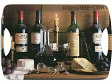Creative Tops Vintage Wine Grand luxe Plateau À Poignées marron