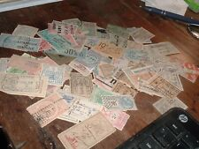 95 Antique Mostly 1800s France & French Colonies Revenue Stamps some RARE !