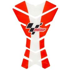 Official MotoGP 3 Piece Motorcycle Motorbike Tank Pad Protector Red White New