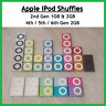 Apple iPod Shuffle 4th Generation 2GB (Latest Model) Assorted Colors 2nd 5th 6th