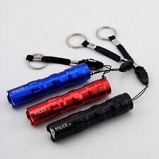 1PCS Protable Led Flashlight Pocket Waterproof AA battery Keychain Torch Lights