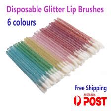 Disposable Glitter Lip Brush Lip Wands Gloss  Wand Lipstick Brushes Applicator