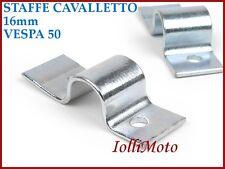 PIASTRINE STAFFE CAVALLETTO CENTRALE D. 16mm VESPA 50 L N R SPECIAL 125 VMA1T