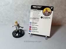 Emma Frost - 059a Marvel X-Men Xavier's School HeroClix Miniature Super Rare