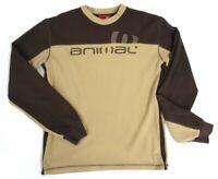 Animal Brown Mens Sweatshirt, Size Small ##REC H1 SE
