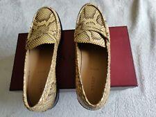 BALLY Women Phyton Shoes Size 39 Euro 8.5 US Swiss Made