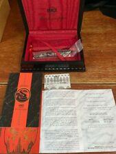 Montegrappa Oriental Zodiac Snake Silver Fountain Pen Edition No. 2000--- NEW