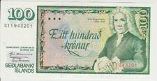 Iceland 100 Kronur 1961 Pick 50 UNC