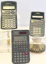 Scientific Calculator Lot Casio FX-300W Texas Instrument TI-XITS & TI-30XA