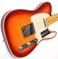 Fender American Ultra Telecaster Plasma Red Burst with Ohsc
