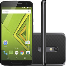 "Motorola Moto X Play XT1563 4G LTE SmartPhone 5.5"" GSM UNLOCKED Black"