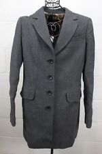 $1795 DOLCE & GABANNA D&G Gray Wool Blazer Jacket Coat 48 12 NWT