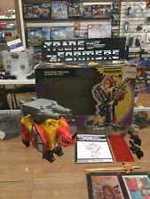 Transformers Original G1 1986 Predacon Headstrong Complete for Predaking