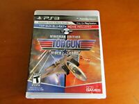 Top Gun -- Wingman Edition (Sony PlayStation 3, 2011) Preowned With Manual