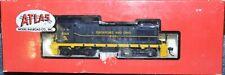 HO scale Atlas Chesapeake & Ohio (C&O) S-2 switcher diesel locomotive train