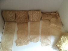 Antique Vintage Lace Lot 6 Styles Collectible  Sewing Crafting Quilting Notions