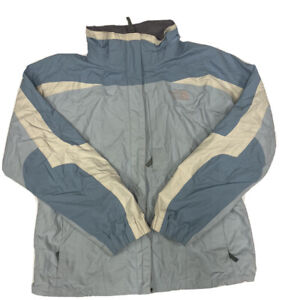 The North Face Women's Blue And White Gore-Tex Ski Shell Jacket Size Large