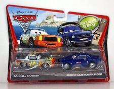 Disney**Pixar CARS 2_DARRELL CARTRIP_BRENT MUSTANGBURGER Die-Casts_Exclusive_MIP