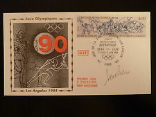 FRANCE PREMIER JOUR FDC YVERT  2314   JEUX OLYMPIQUE LOS ANGELES  4F  PARIS 1984