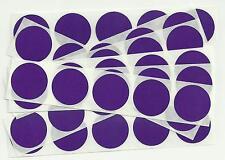 50 x 1 Inch Round Purple Scratch Off Stickers - Birthday, Wedding, Hen & Stag