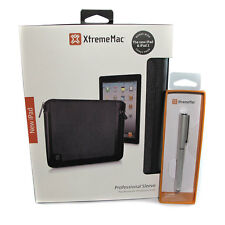 XtremeMac Tablet Professional Sleeve Case & 2n1 Stylus Pen Bundle iPad Kindle