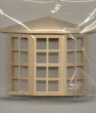 Half Scale 1:24 - Window  - Bay Window -  Dollhouse wooden #H5008 Houseworks