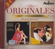 Beatriz Adriana Adios y Bienvenida Con la banda la Costena 2 en 1 CD New Nuevo
