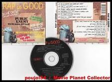 """RAP IS GOOD """"12 Titres"""" (CD) Public Enemy... 1990"""