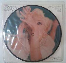 "Madonna Take A Bow Single 7"" UK 1994 fotodisco a color numerado con encarte"
