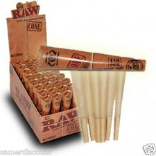 Raw 1 1/4 Unbleached Cones-5 Pks -30 Cones Free shipping US