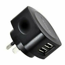 Sansai 2 USB Outlets AC Charger, 2.1A/5V , Fast-charge your iPad or iPhones
