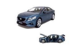 1/18 1:18 Scale Mazda 6 Atenza 2014 Blue Diecast Model Car Paudimodel
