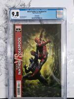 Black Panther vs Deadpool #1 CGC 9.8 Adi Granov 1:50 Incentive Variant
