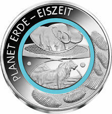 Earth history: Ice Age - Special Issue, copper, silver plated