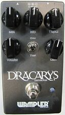 Used Wampler Dracarys Distortion Overdrive Guitar Effects Pedal!