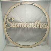 """Personalised """"Wall Hangers"""" Personalise Your Own Text! Shipped from Sydney!"""