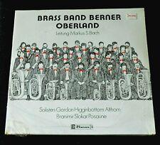 BRASS BAND BERNER OBERLAND-BRASS,MILITARY-SWITZERLAND-1980-D8006-SEALED LP