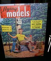 Flying Models magazine; September 1957; Boats and Planes~Jolly Flapper plan