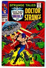 STRANGE TALES #153 in FN  a MARVEL comics 1966 with DOCTOR STRANGE & NICK FURY