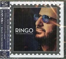 RINGO STARR-POSTCARDS FROM PARADISE-JAPAN SHM-CD F56