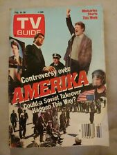 TV Guide Feb 1987 Amerika, Kate Nelligan