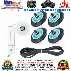 DC97-16782A Drum Roller 6602-001655 Belt DC9600882C Dryer Pulley Kit For Samsung