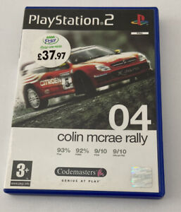 Colin McRae Rally 04 - Playstation 2 - Free Post