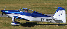 RV-7 Vans ZK-NVS Private RV7 Homebuilt Aircraft Wood Model Free Shipping