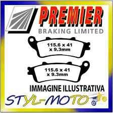 PASTIGLIE FRENI ANTERIORI ORGANICHE PREMIER FJS 400 Silverwing Non ABS 2008