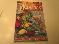 1972 POWER OF WARLOCK  # 4 IN VERY FINE +  CONDITION ,  WITH TRAX