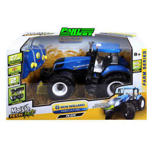 New Holland T8.320 RC Tractor 1:16 RC Remote Control Scale Model Kids Birthday